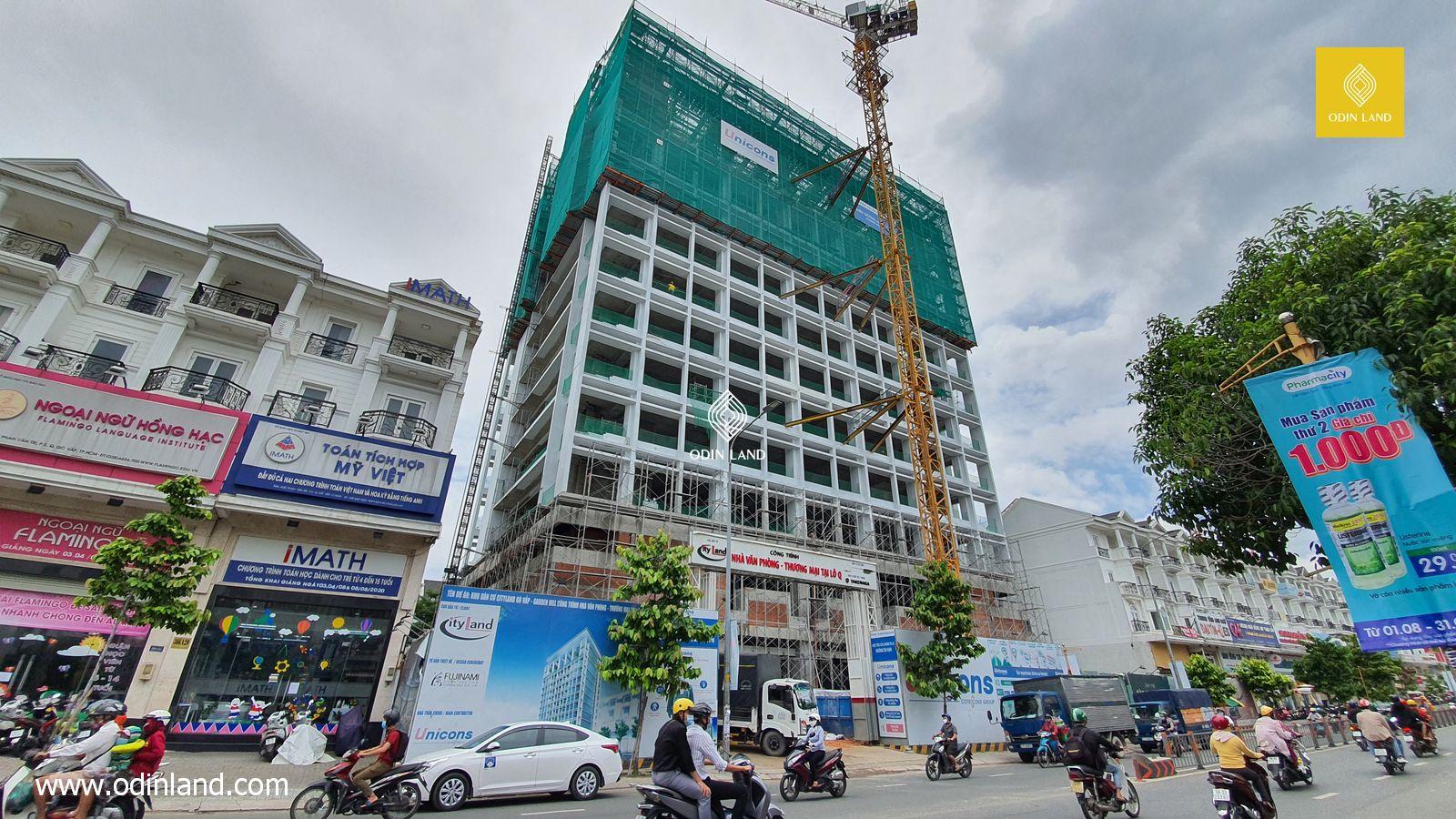 Văn phòng cho thuê tòa nhà Cityland Tower