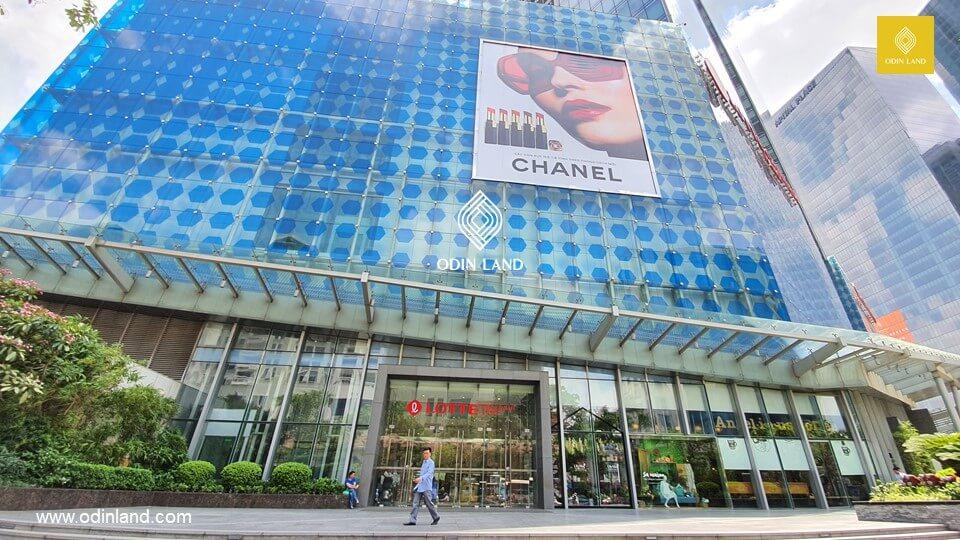 văn phòng cho thuê tòa nhà Lotte Tower