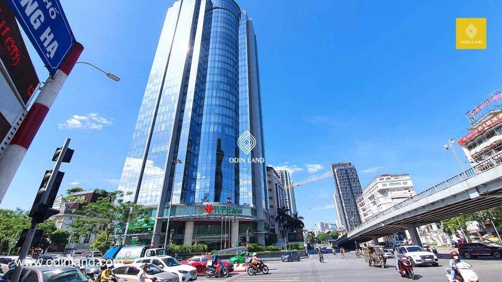 Văn phòng cho thuê tòa nhà VPBank Tower