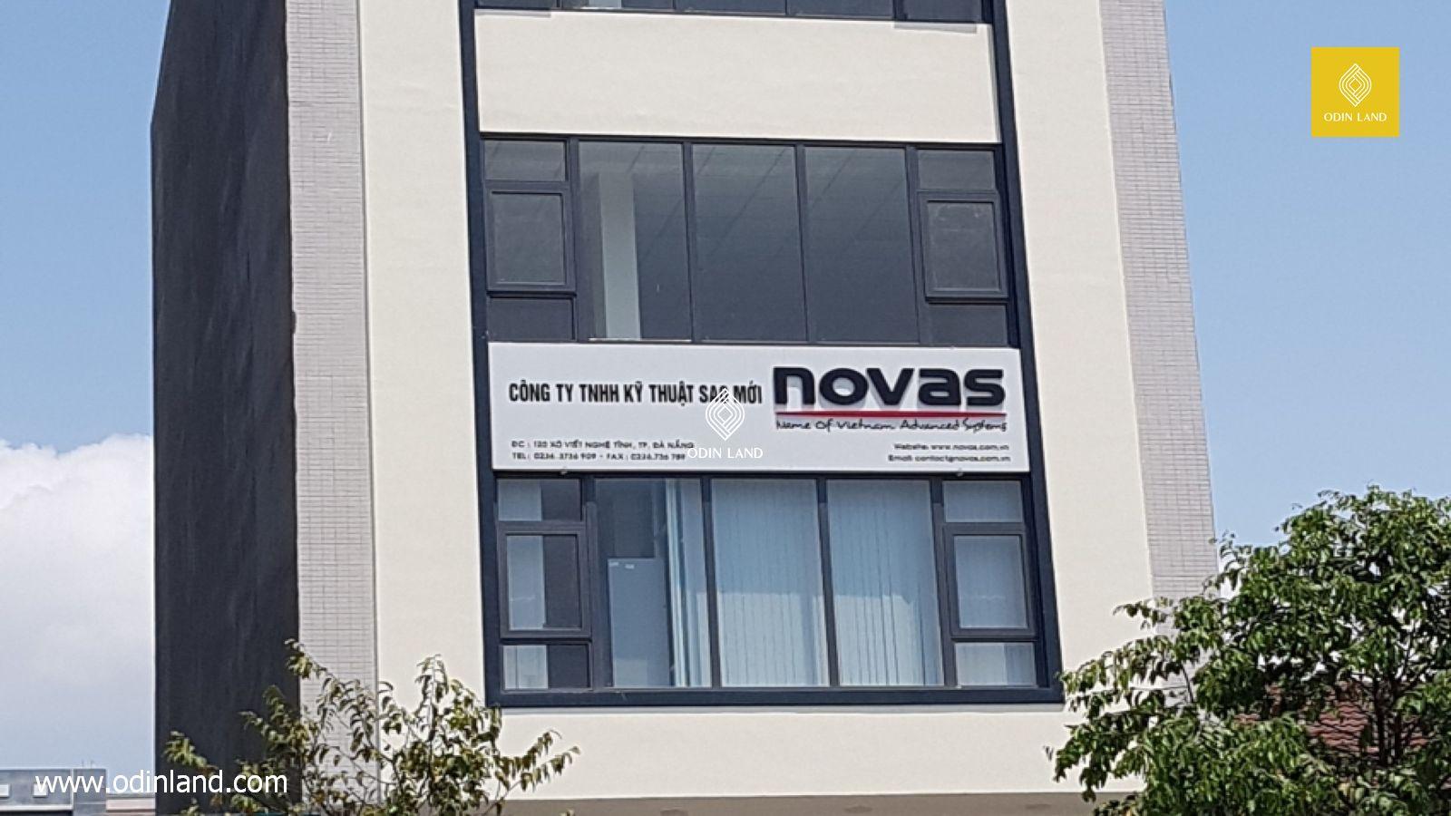 Văn phòng cho thuê tòa nhà Novas Building