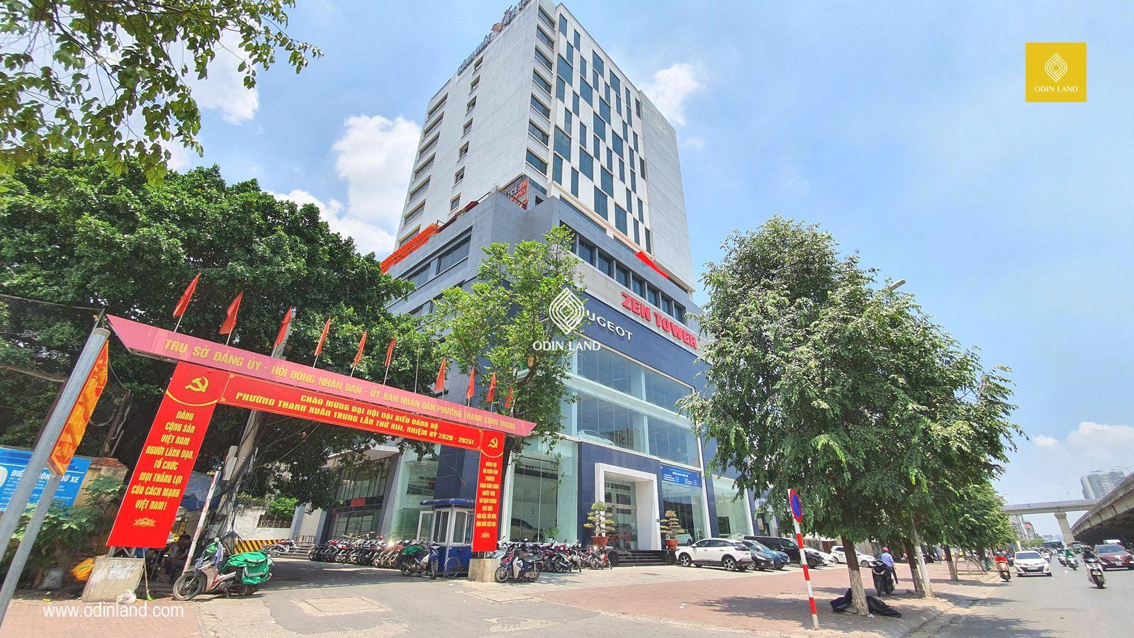 Cho Thue Van Phong Toa Nha Zen Tower8