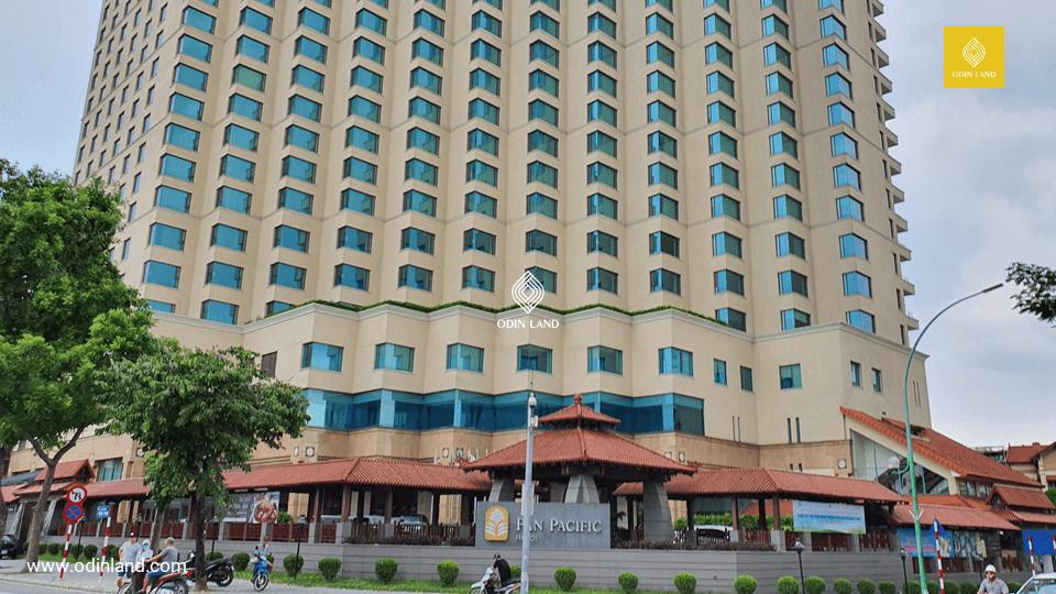 Văn phòng cho thuê tòa nhà Pan Pacific