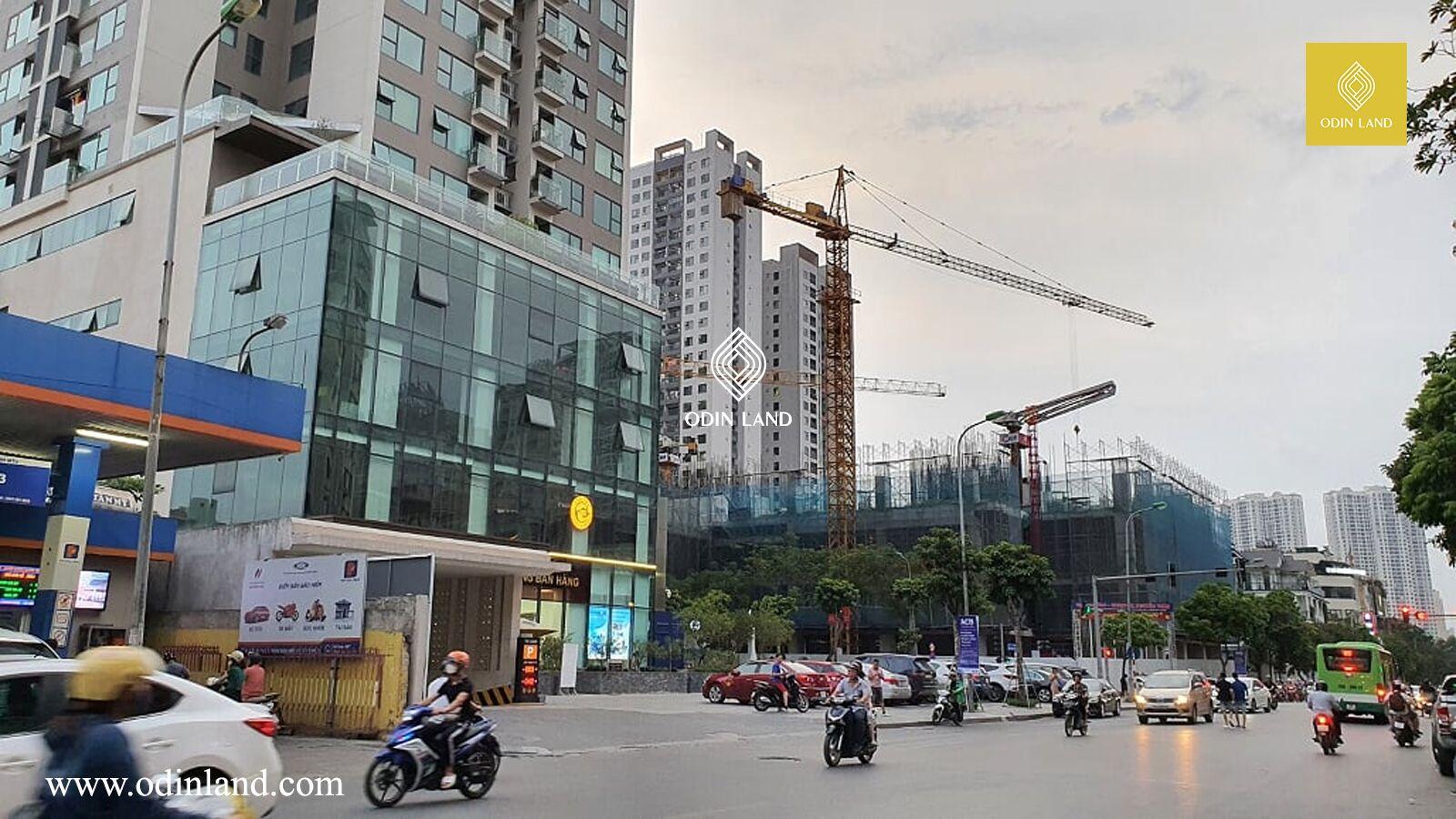 Van Phong Cho Thue Toa Nha The Legend Tower 10