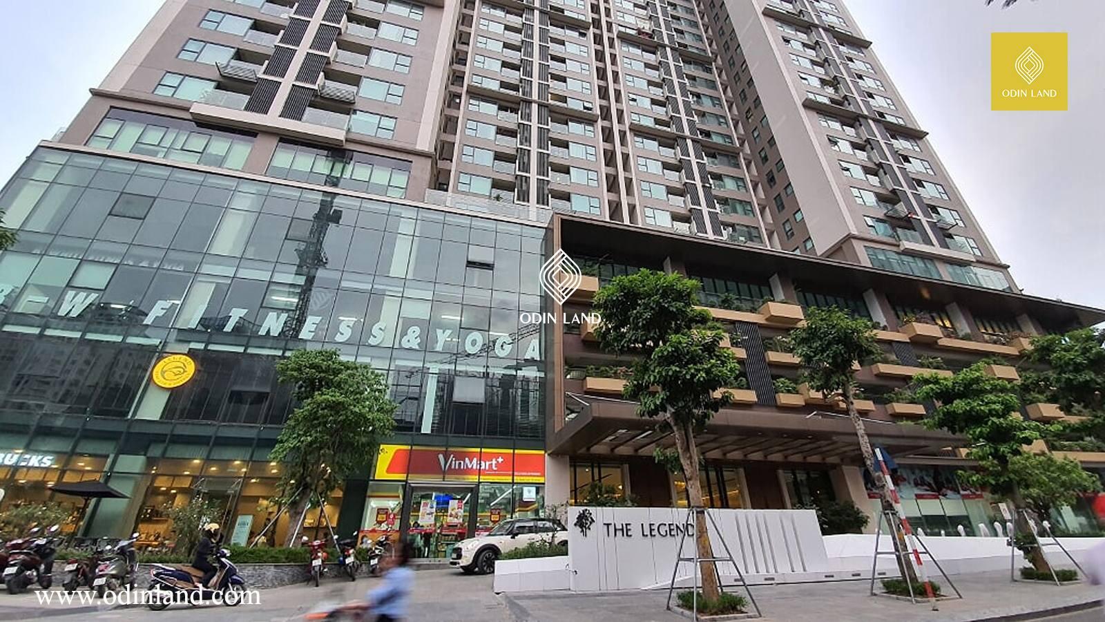 Van Phong Cho Thue Toa Nha The Legend Tower 6