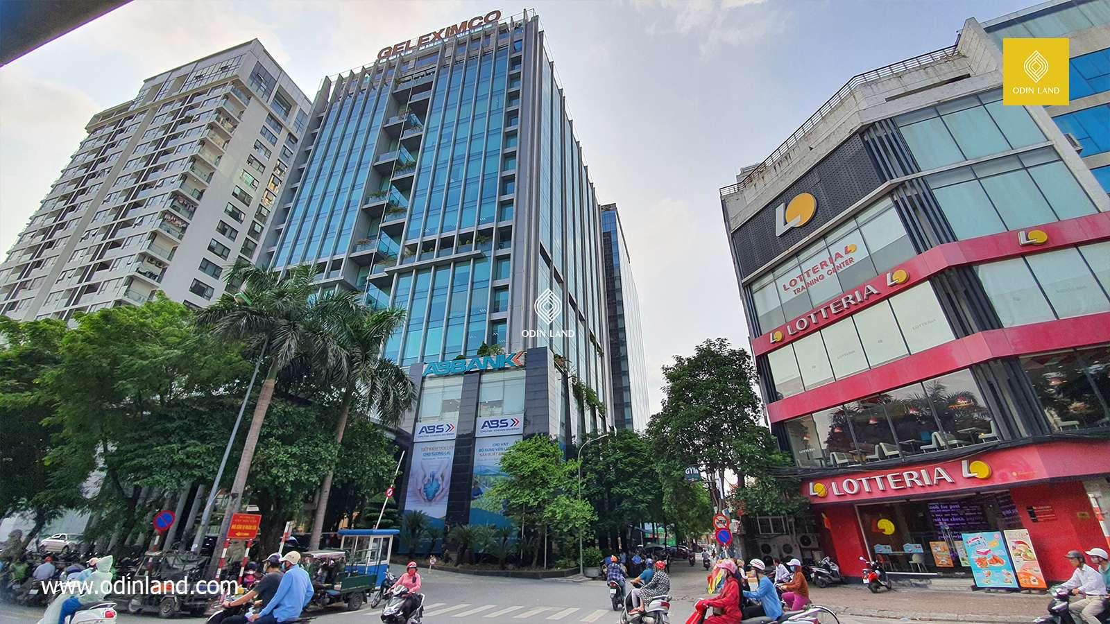 Van Phong Cho Thue Toa Nha Geleximco Building (5)