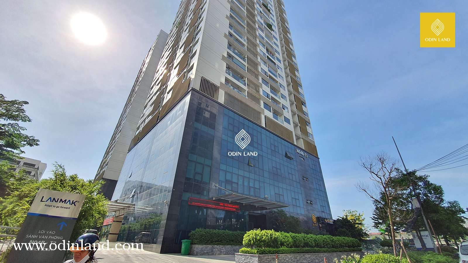 1 Van Phong Cho Thue Toa Nha Lanmak Tower