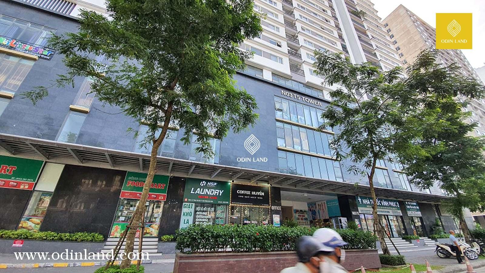 Văn phòng cho thuê tòa nhà N03-T5 Tower