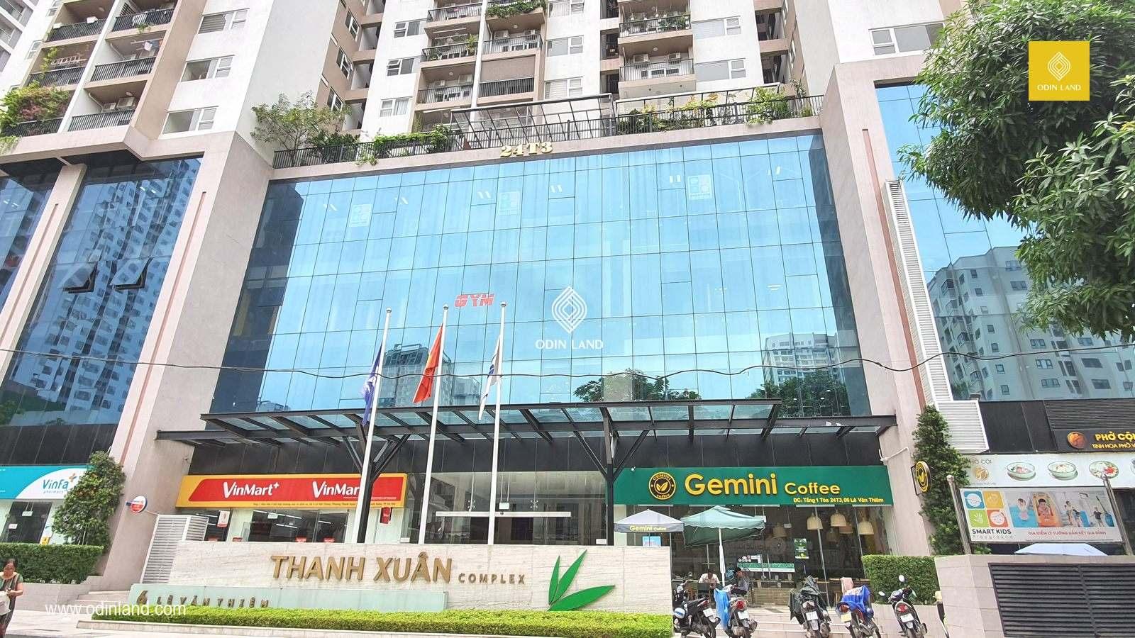 Van Phong Cho Thue Toa Nha Thanh Xuan Complex 4