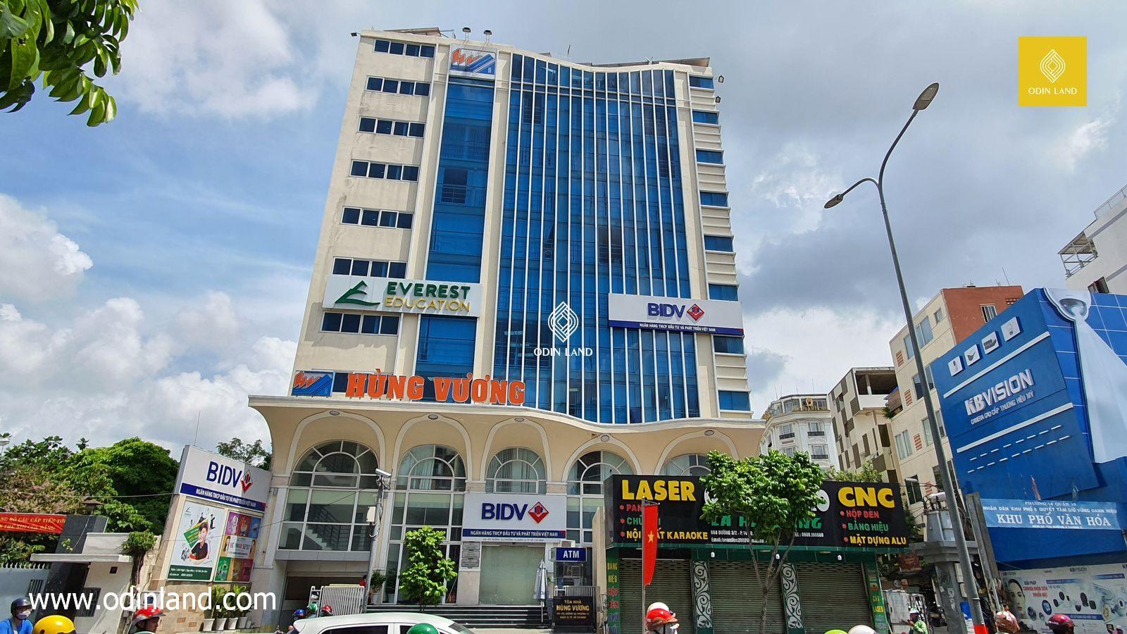 Văn phòng cho thuê tòa nhà Hùng Vương Building