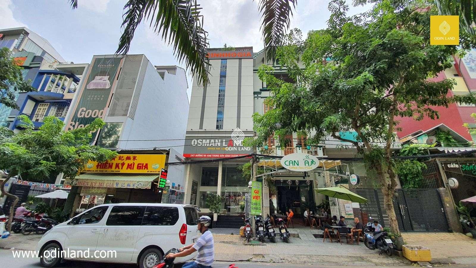 Văn phòng cho thuê tòa nhà Osman Land Building