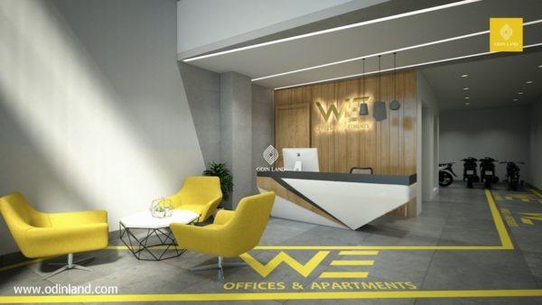 Văn phòng cho thuê tòa nhà WE Building 158