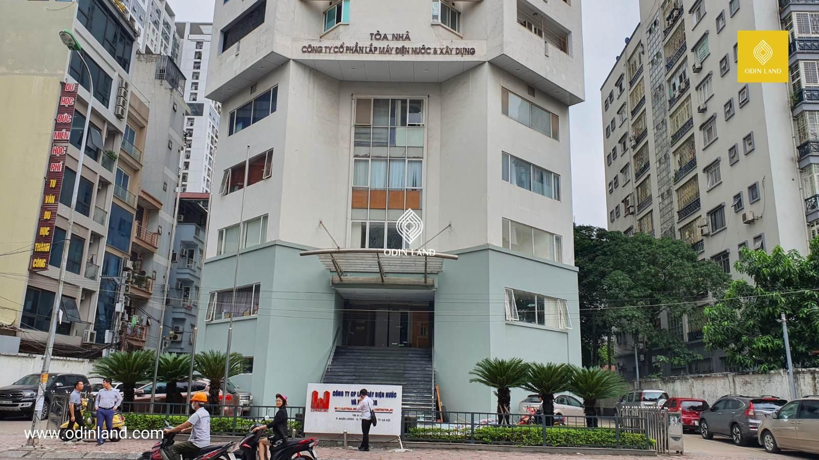 Văn phòng cho thuê tòa nhà 198 Nguyễn Tuân