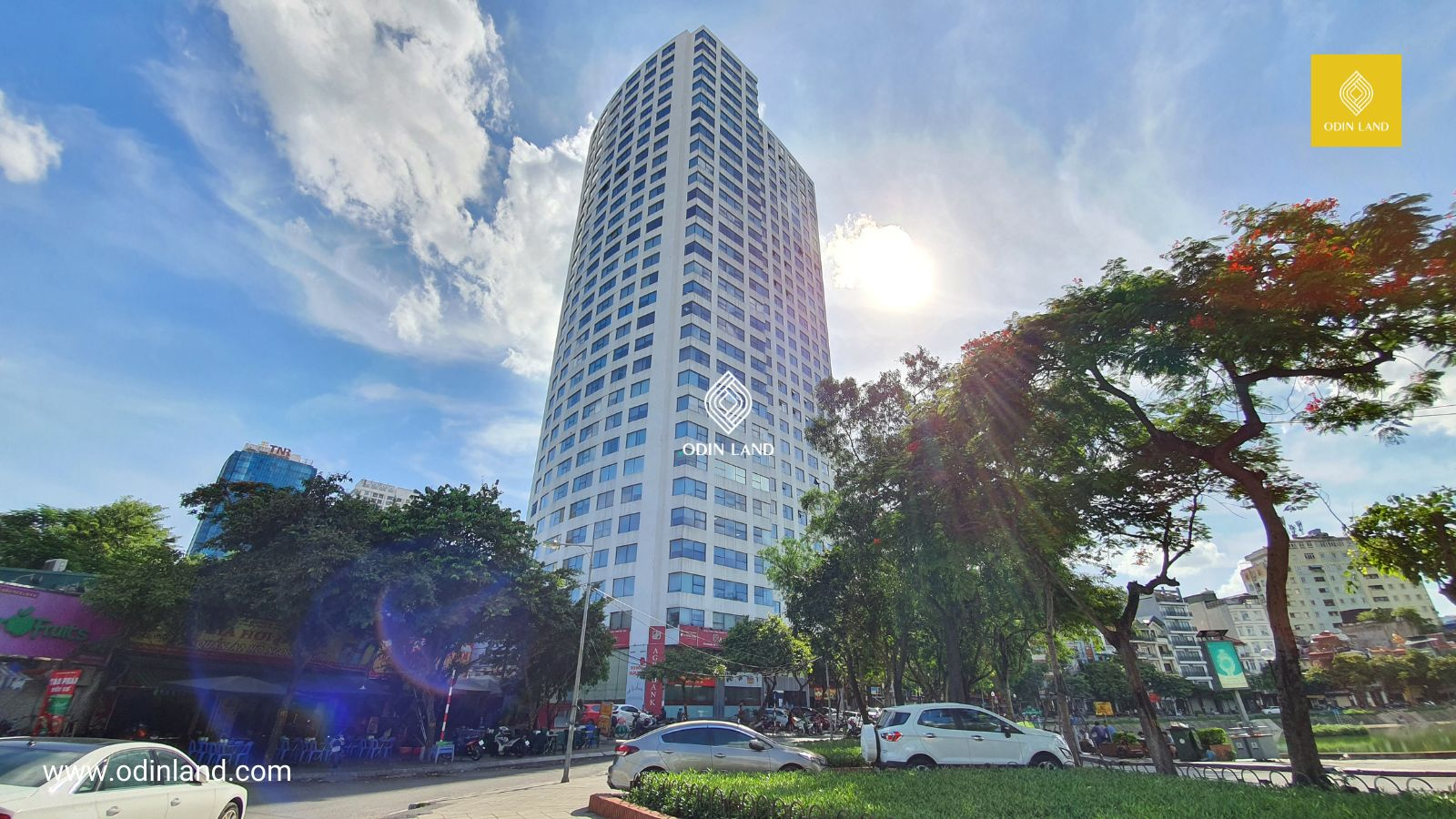 Văn phòng cho thuê tòa nhà Ngọc Khánh Plaza