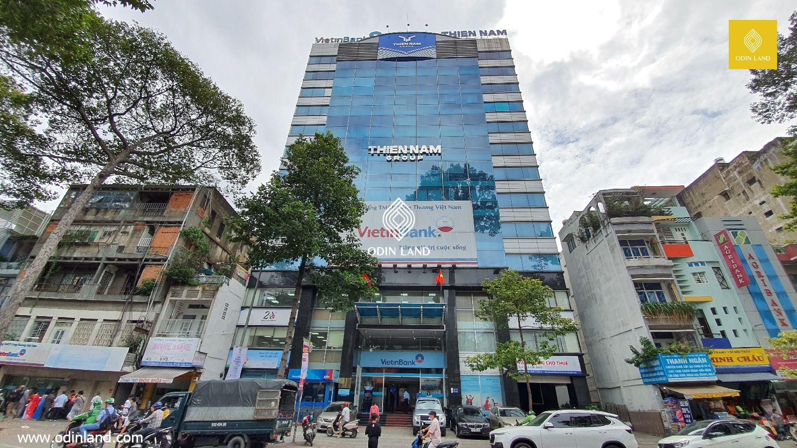 Văn phòng cho thuê tòa nhà Thiên Nam Building
